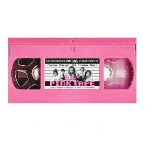 F(x) - 2nd Album: Pink Tape CD