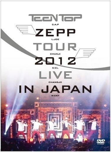 Teen Top - ZEPP Tour: 2012 Live In Japan DVD
