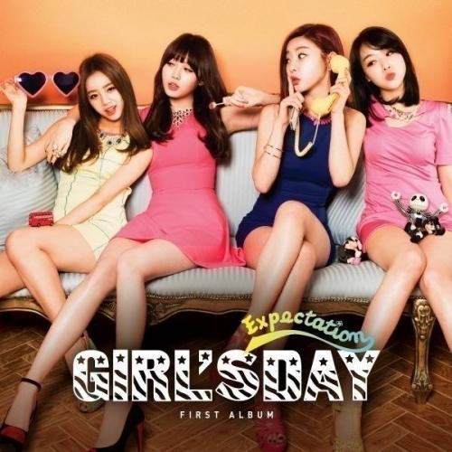 Girl's Day - 1st Album: Expectation CD