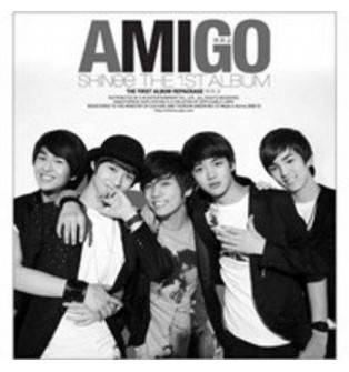 SHINee - 1st Album Repackage: Amigo CD