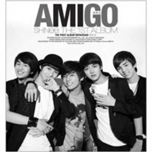 SHINee - 1st Album Repackage: Amigo CD