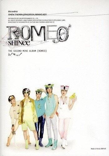 SHINee - 2nd Mini Album: ROMEO CD