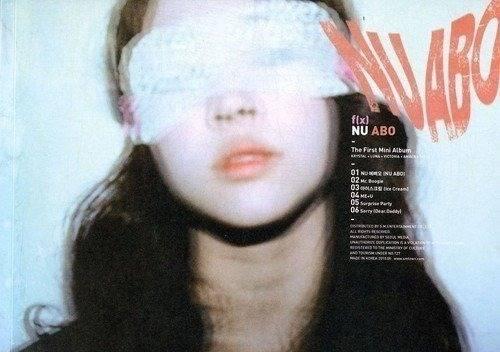 F(x) - Nu Abo (1st Mini Album) CD