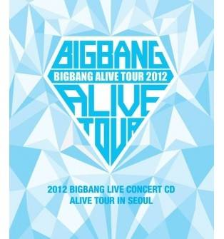 Bigbang - 2012 Live Concert : Alive Tour in Seoul CD