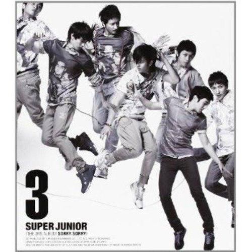 Super Junior - 3rd Album: Sorry Sorry (Version C) CD