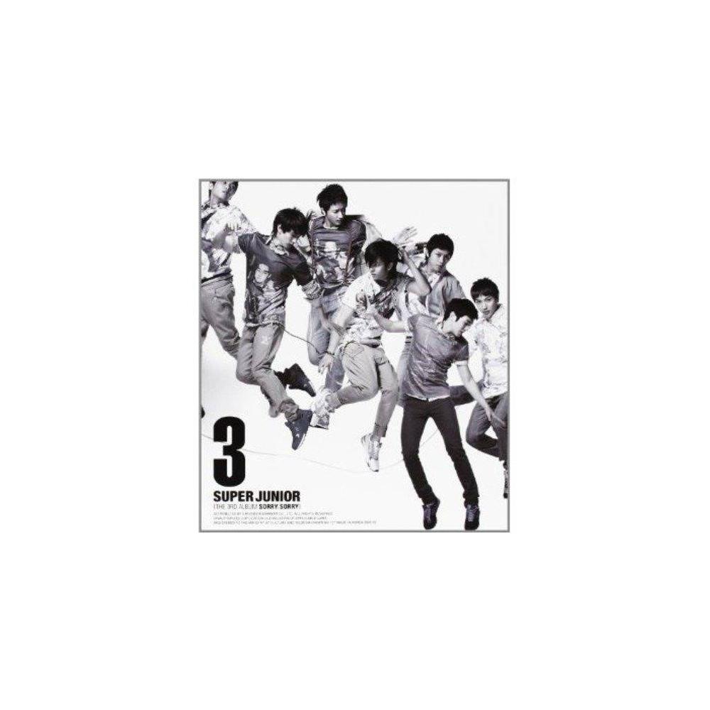 Super Junior - 3rd Album Sorry Sorry (Ver. C)