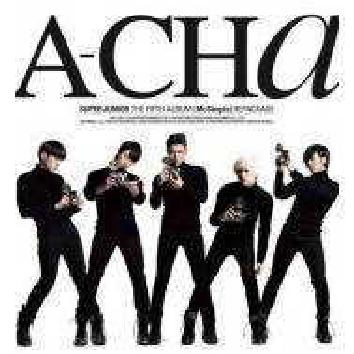 Super Junior - 5th Album Repackage: A-CHa CD