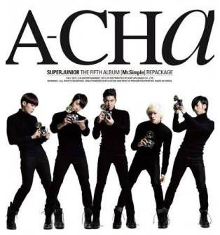 Super Junior - 5th Album Repackage: A-CHa CD