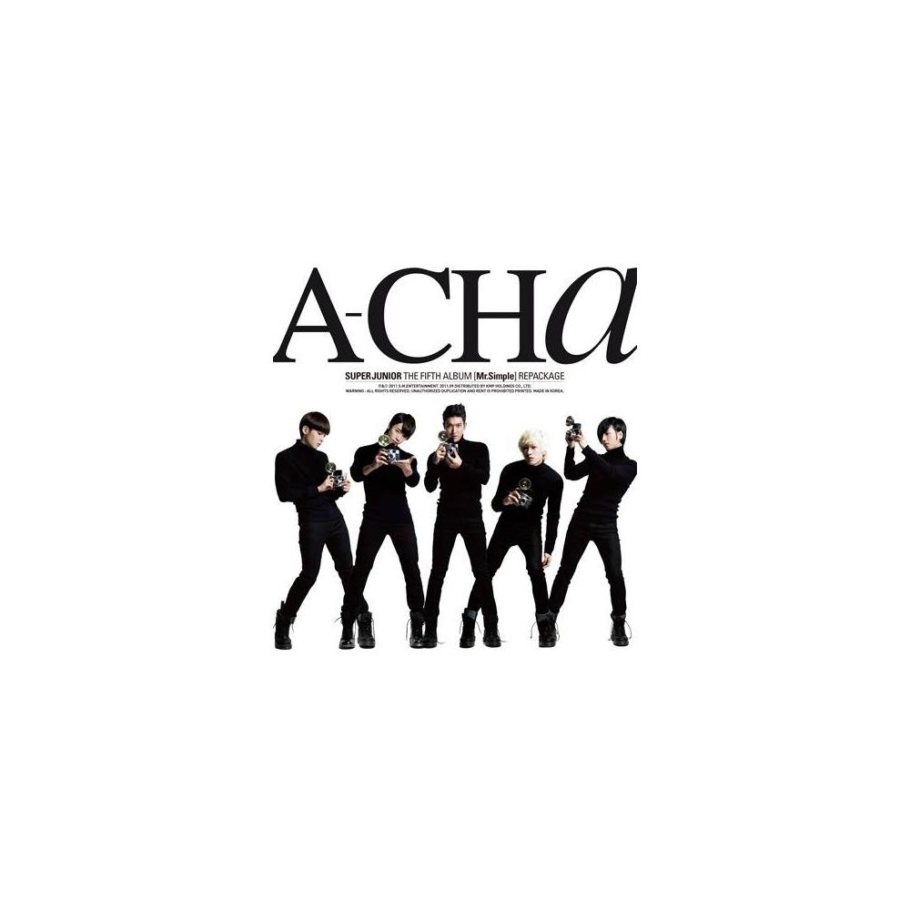 Super Junior - 5th Album Repackage A-CHa
