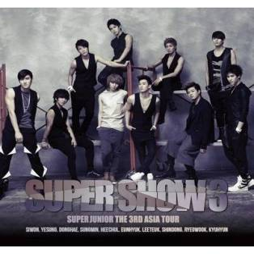 Super Junior - 3rd Asia Tour Concert: Super Show III CD