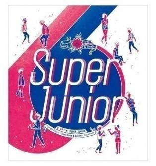Super Junior - 6th Album Repackage: Spy CD