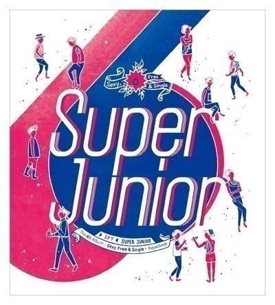 Super Junior - 6th Album Repackage: Spy CD