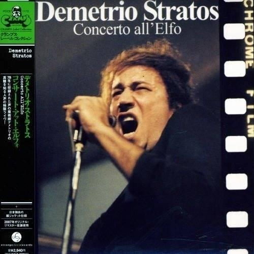 Demetrio Stratos - Concerto All'elfo Mini LP CD