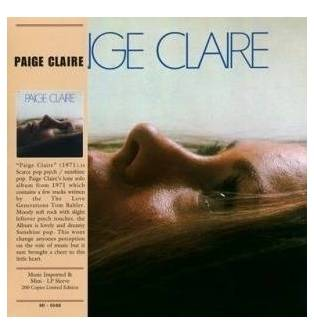 Paige Claire - Paige Claire Mini LP CD