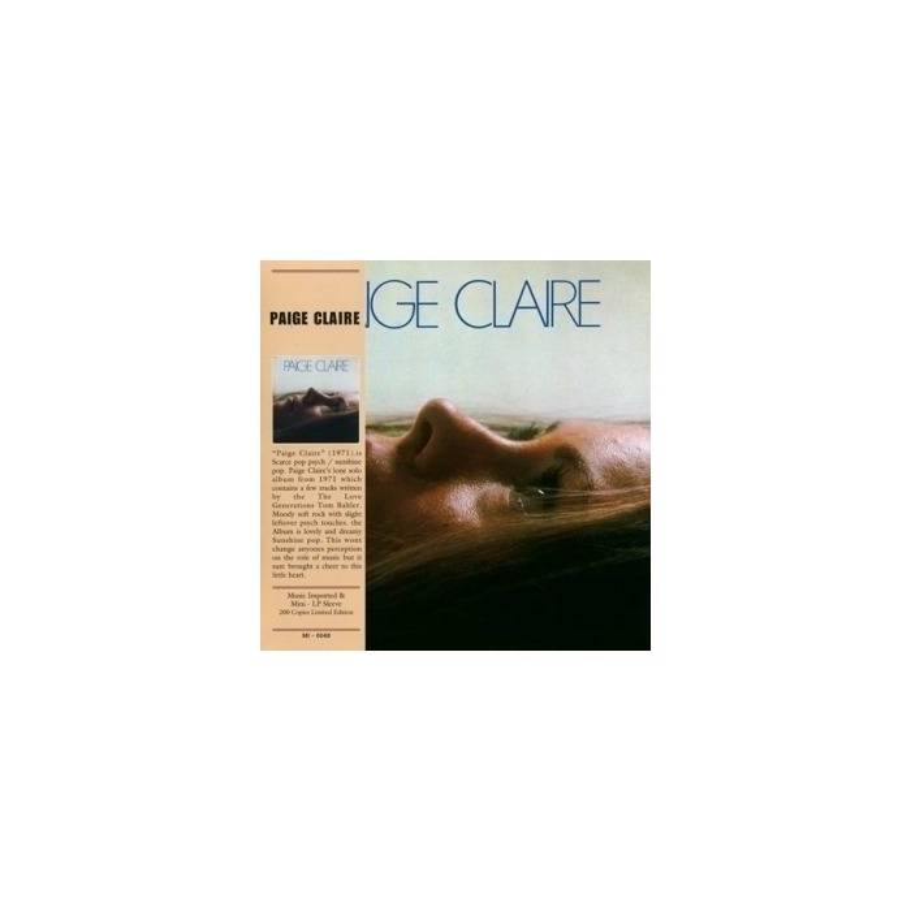Paige Claire - Paige Claire Mini LP CD