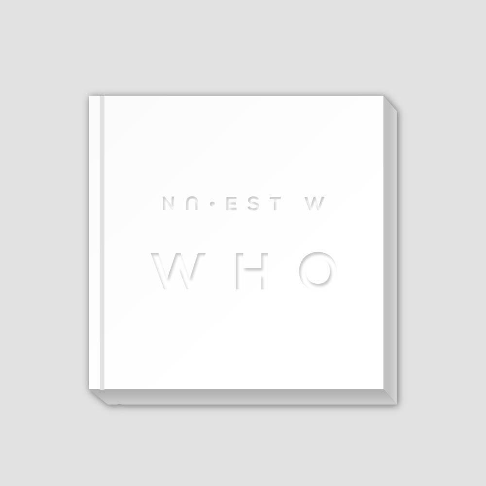 Nu'est W - Who,, You Album (Who Ver. Silver Cover)