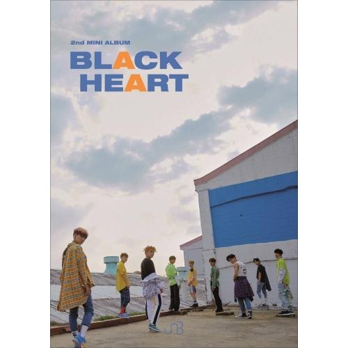 UNB -2nd Mini Album BLACK HEART (Heart Ver.)