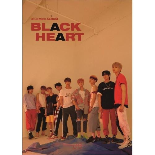 UNB -2nd Mini Album BLACK HEART (Black Ver.)