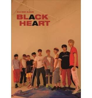 UNB -2nd Mini Album: BLACK HEART CD (Black Version)