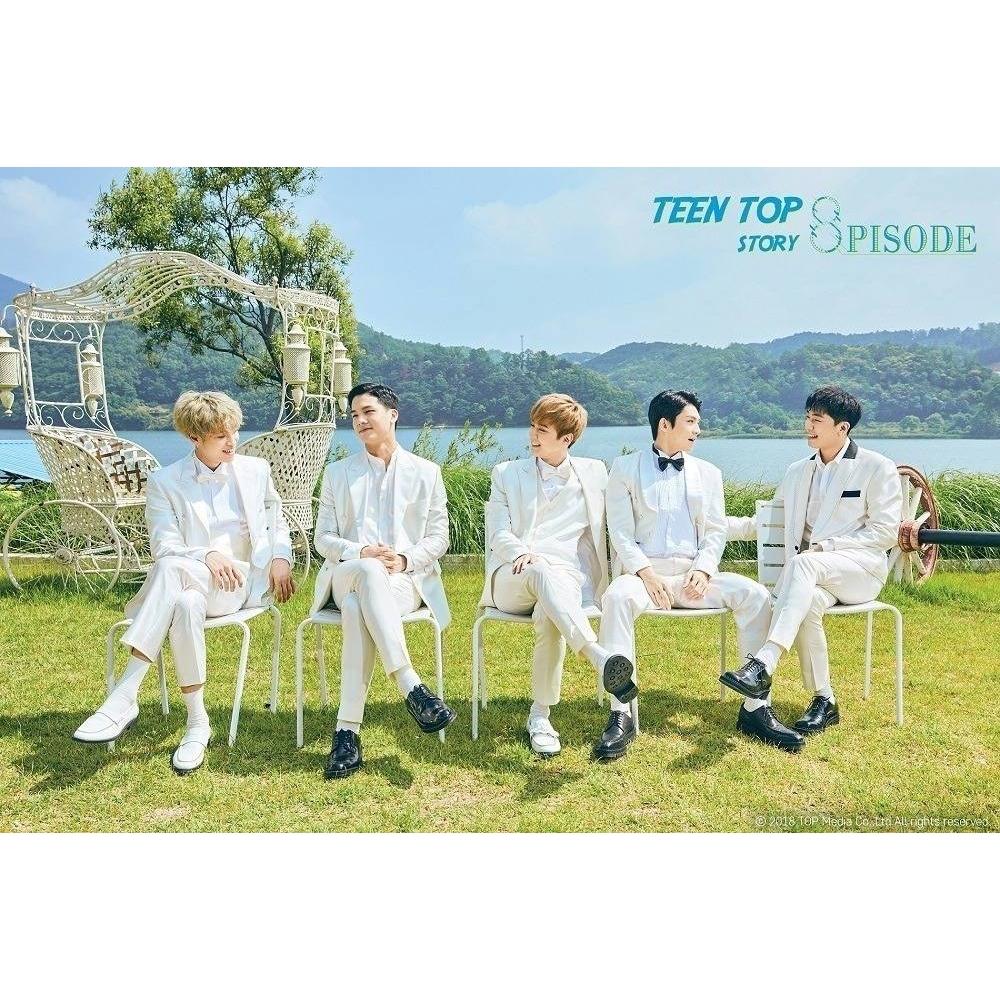 Teen Top - 8th Mini Album Repackage Teen Top Story 8PISODE