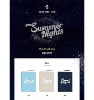 TWICE - 2nd Special Album: Summer Nights CD (preorder item available)