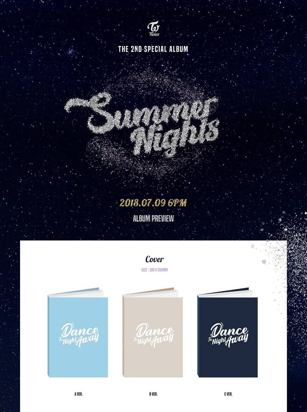 TWICE - 2nd Special Album: Summer Nights CD