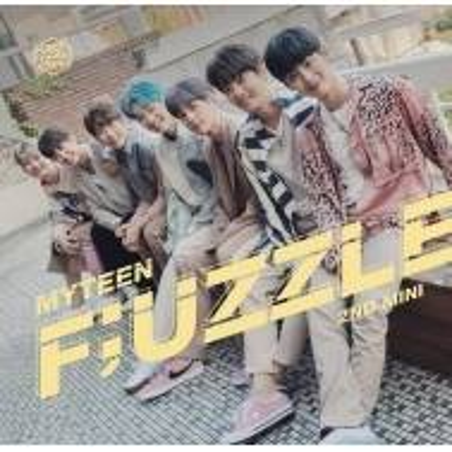Myteen - 2nd Mini Album: Fuzzle CD