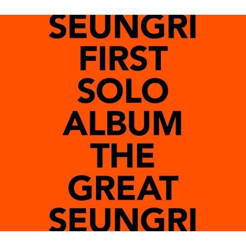 Seungri - 1st Solo Album: The Great Seungri CD (Orange Version)