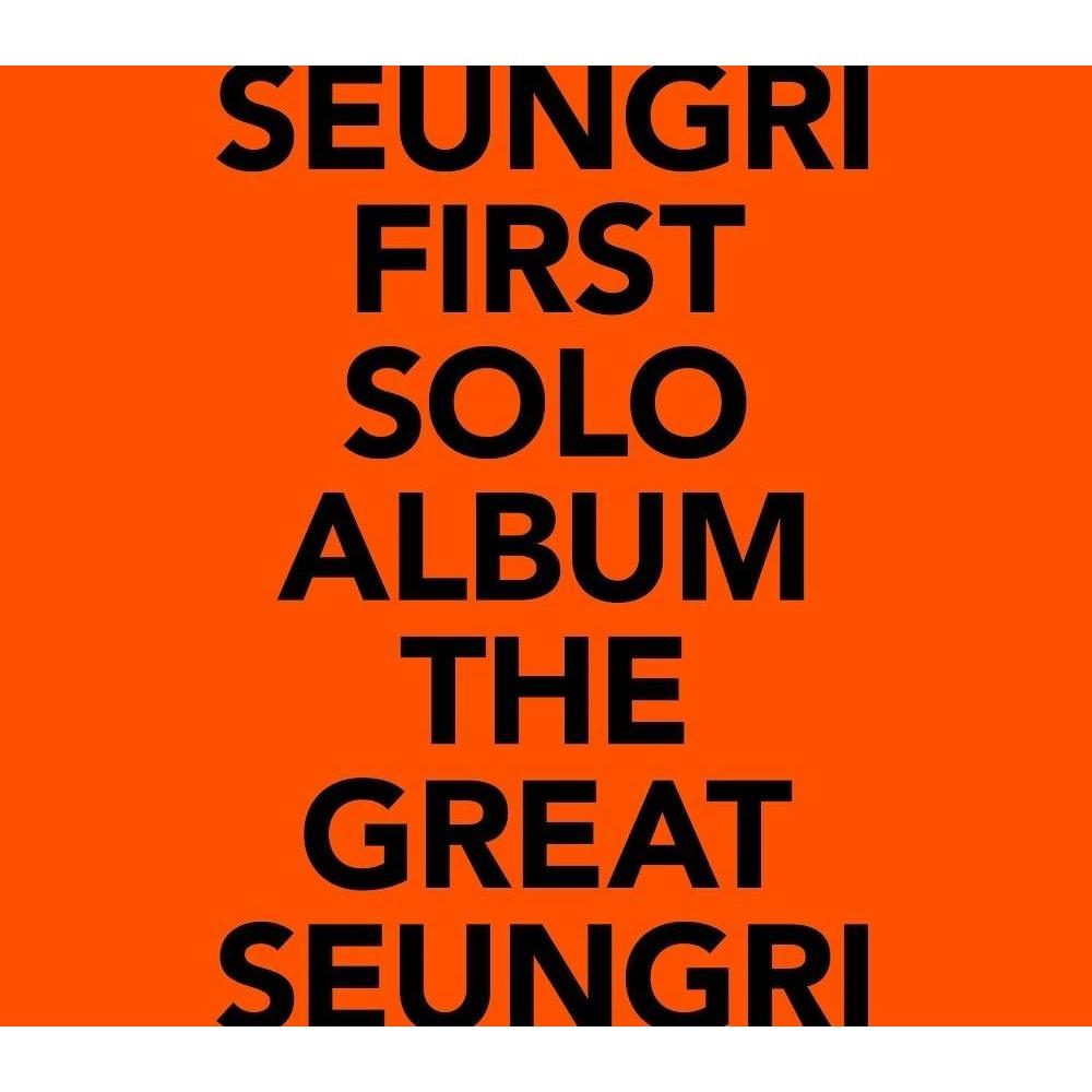 Seungri - 1st Solo Album The Great Seungri (Orange Ver.)