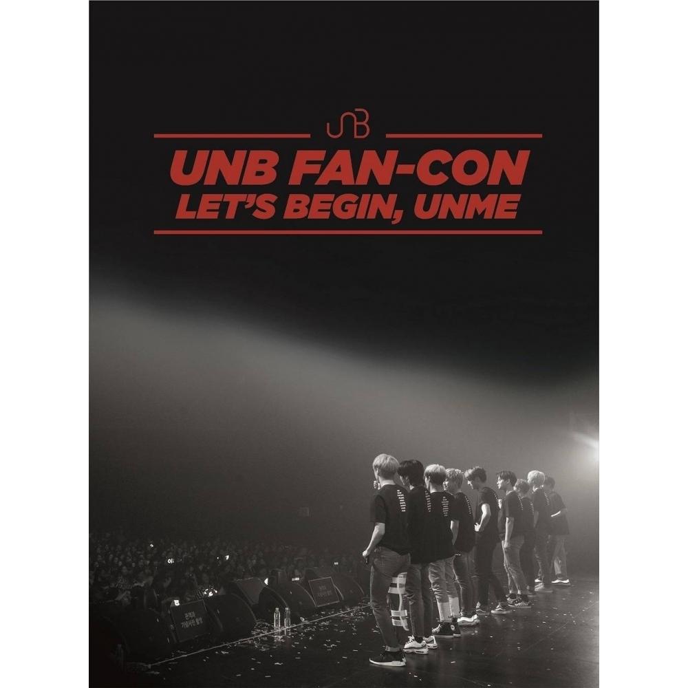 UNB - 2018 UNB FAN-CON LET'S BEGIN,, UNME 2DVD+1CD
