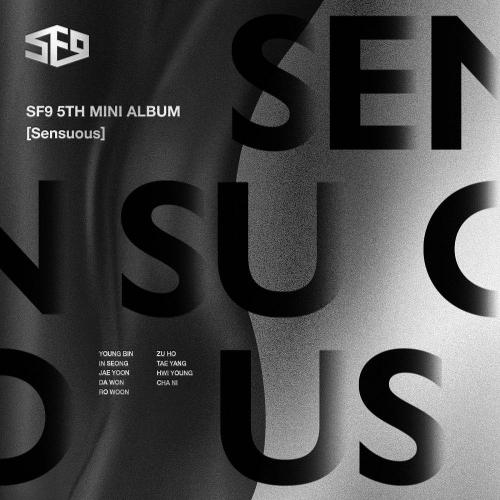 SF9 - 5th Mini Album Sensuous (Hidden Emotion Ver.)
