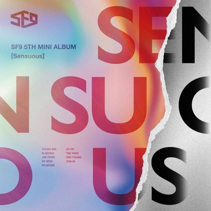 SF9 - 5th Mini Album Sensuous (Exploded Emotion Ver.)