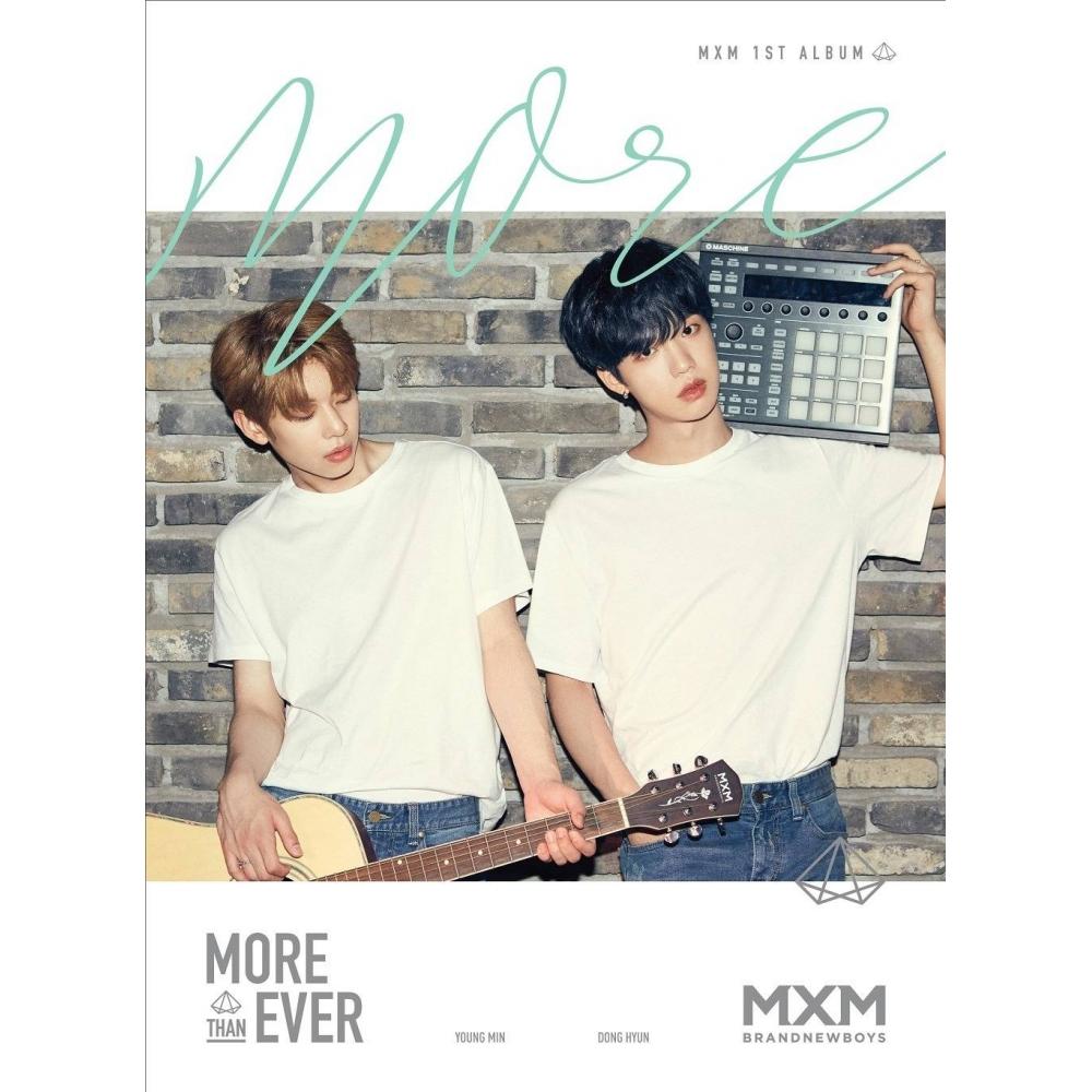 MXM (Brand New Boys) - 1st Album More Than Ever (More Ver.)