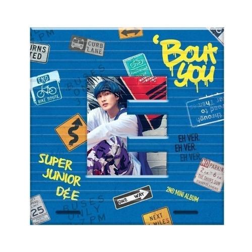 Super Junior D&E - 2nd Mini Album 'Bout You (Eunhyuk Ver.)