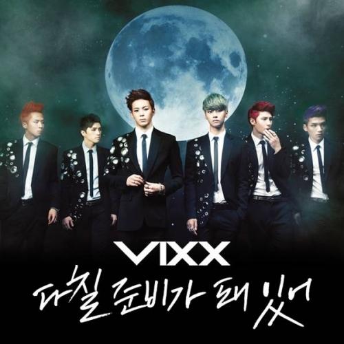 Vixx - 3rd Single Ready to Get Hurt