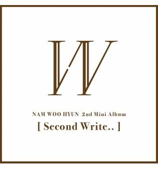 Nam Woo Hyun (Infinite) - 2nd Mini Album: Second Write.. CD
