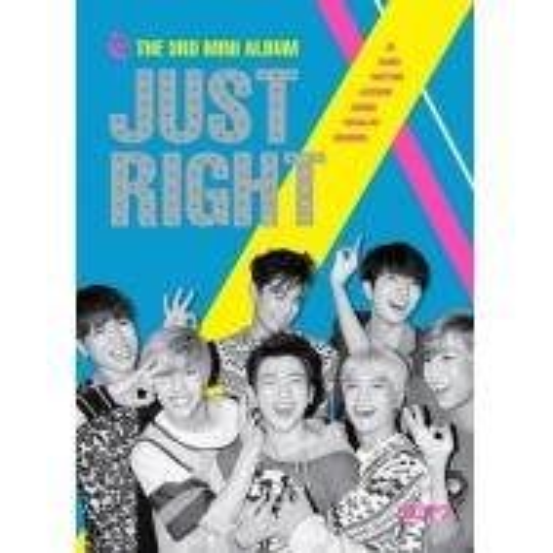 GOT7 - 3rd Mini Album: Just Right CD