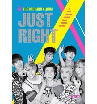 GOT7 - 3rd Mini Album: Just Right CD