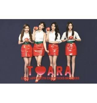 T-ara - Little Apple with Chopsticks Brothers CD