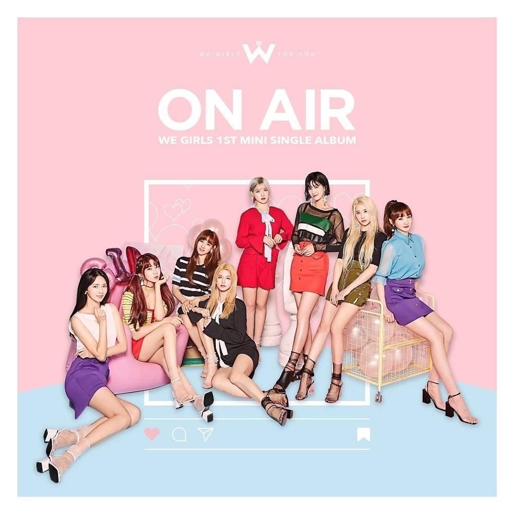 We Girls - 1st Mini Single Album On Air