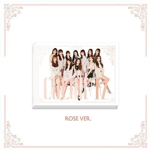 IZ*ONE - 1st Mini Album: COLOR*IZ CD (Rose version)