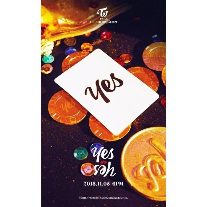 TWICE - 6th Mini Album Yes or Yes