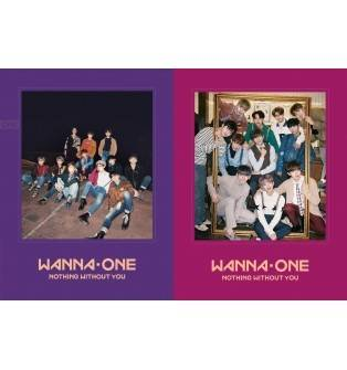 Wanna One - To Be One Prequel Repackage: 1-1-0 Nothing Without You CD (Random Version)