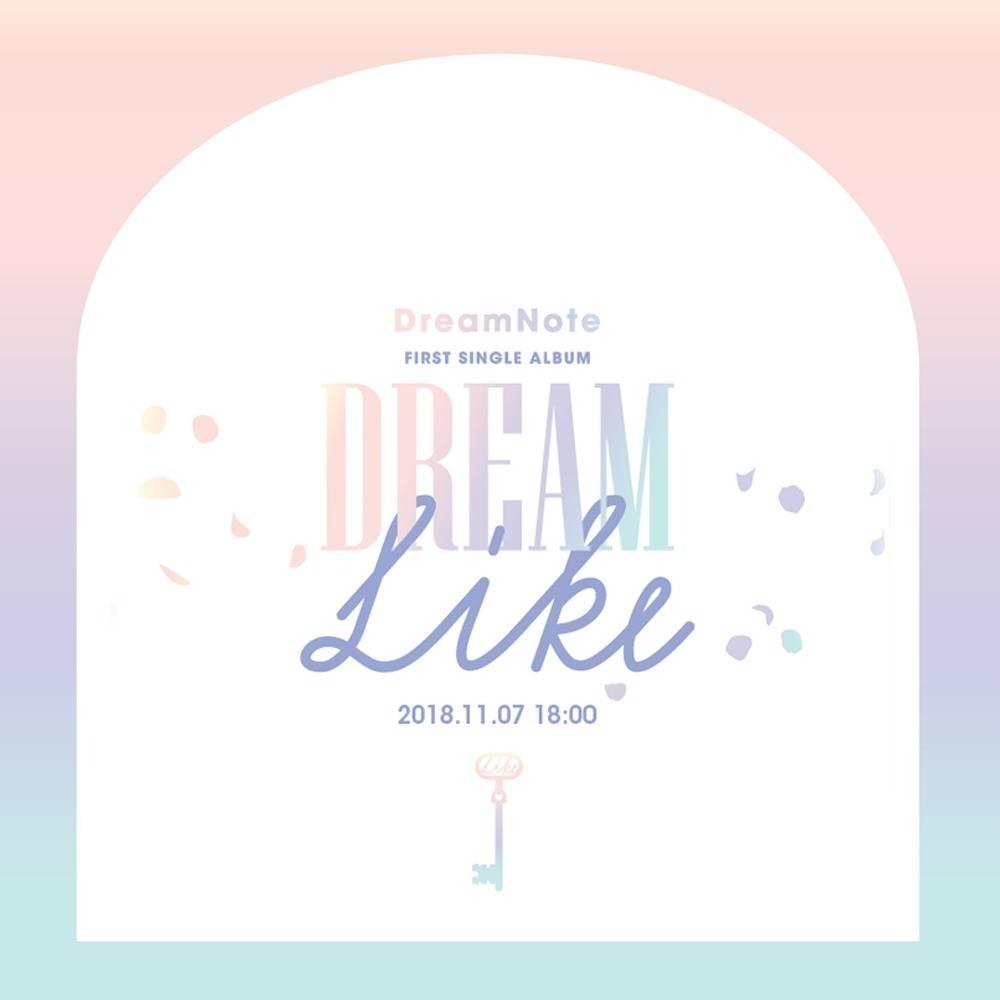 DreamNote - 1st Single Album Dreamlike