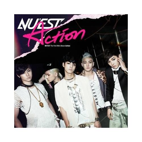 Nu'est - Action (1st Mini Album) CD