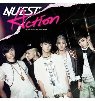 Nu'est - Action (1st Mini Album) CD