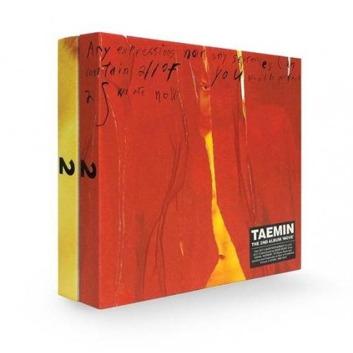 Taemin - 2nd Album: Move CD (Random Version)