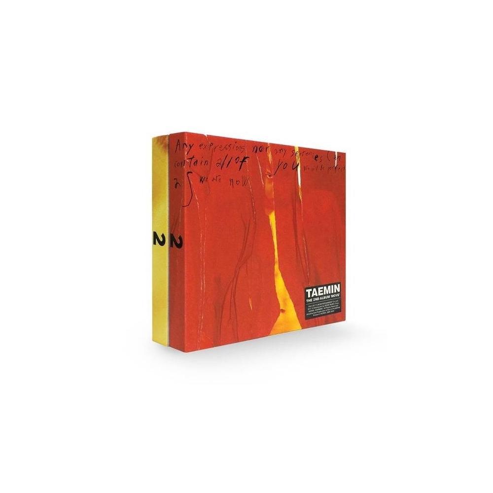 Taemin - 2nd Album Move (Random Ver.)