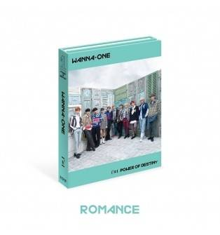 Wanna One - 1st Album:1-1 POWER OF DESTINY CD (Romance Version)