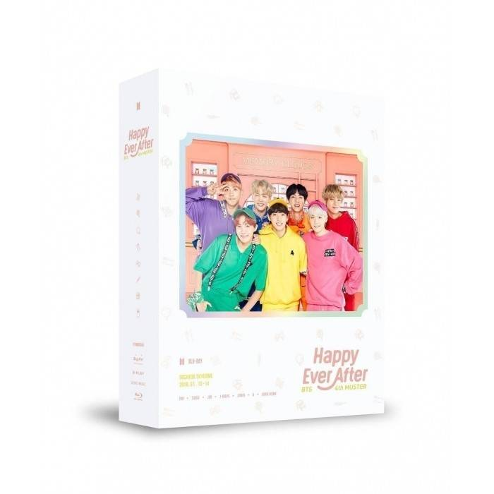 BTS - BTS 4th MUSTER Happy Ever After Blu-ray Disc